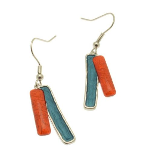 Miss Milly Orange Mix Earrings